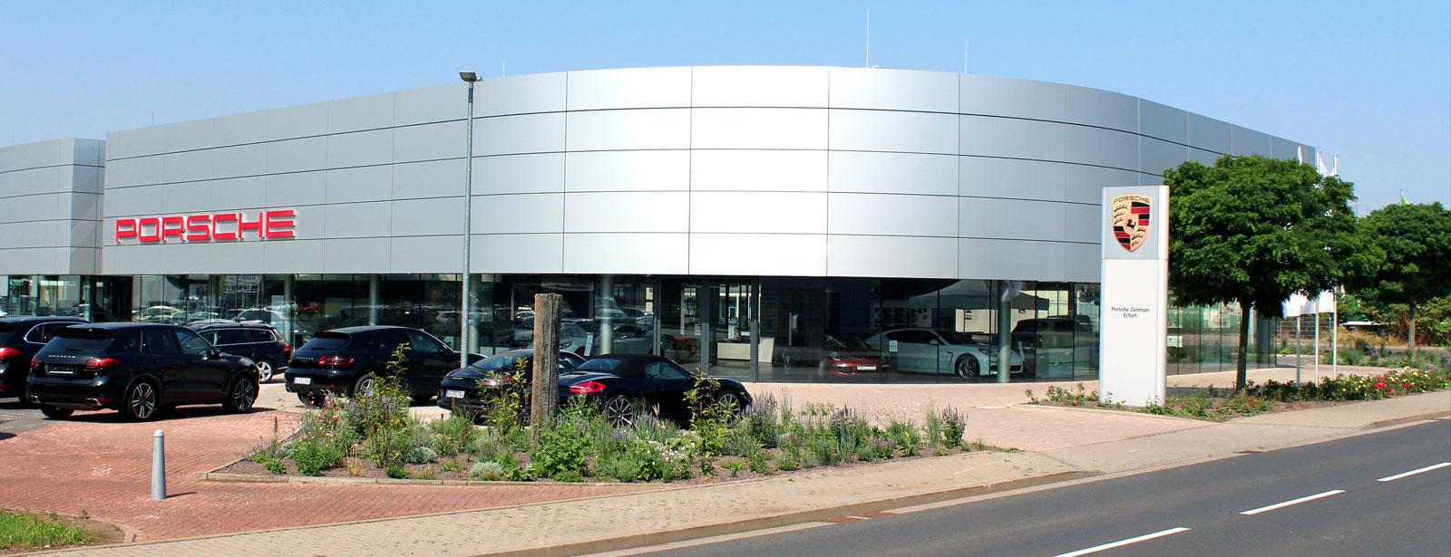 Porsche Zentrum Erfurt 187 Herzlich Willkommen