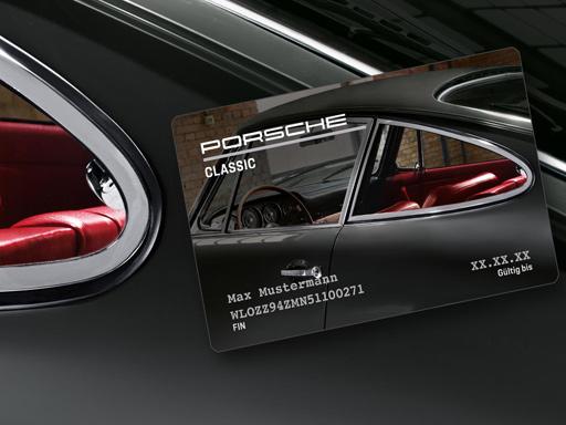 Die Porsche Classic Card